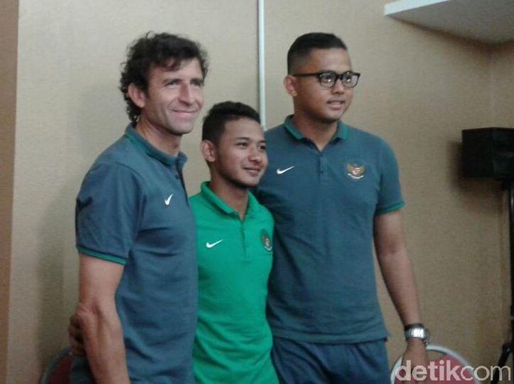 Luis Milla Harapkan Zola-nya Indonesia Bisa seperti Zola dari Italia
