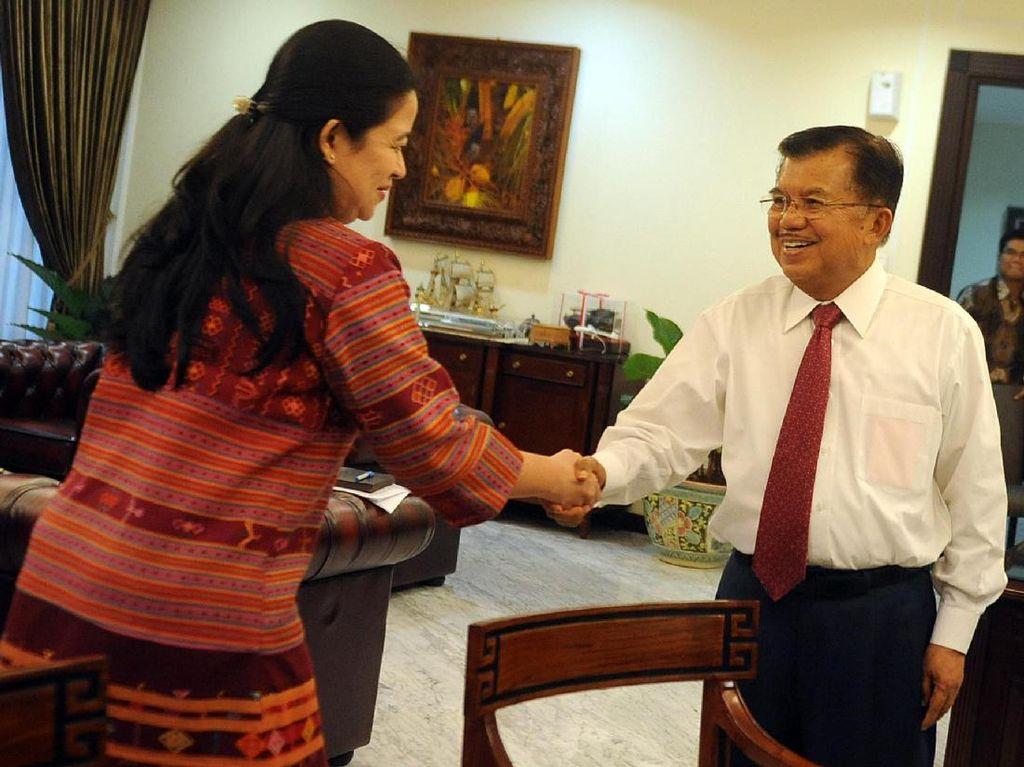 JK: Saya Dukung Pak Jokowi, Kalau Ibu Puan Mau Kita Dukung Juga