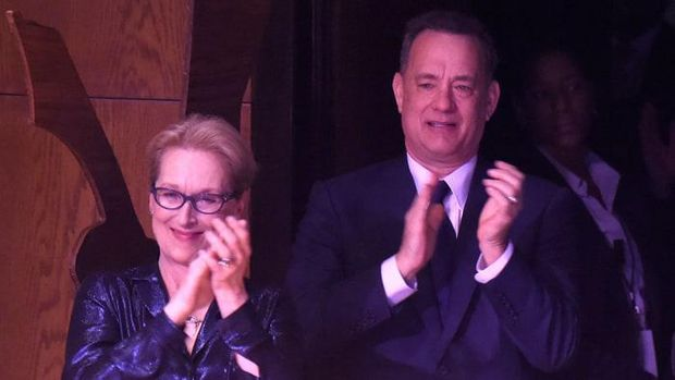 Meryl Streep dan Tom Hanks