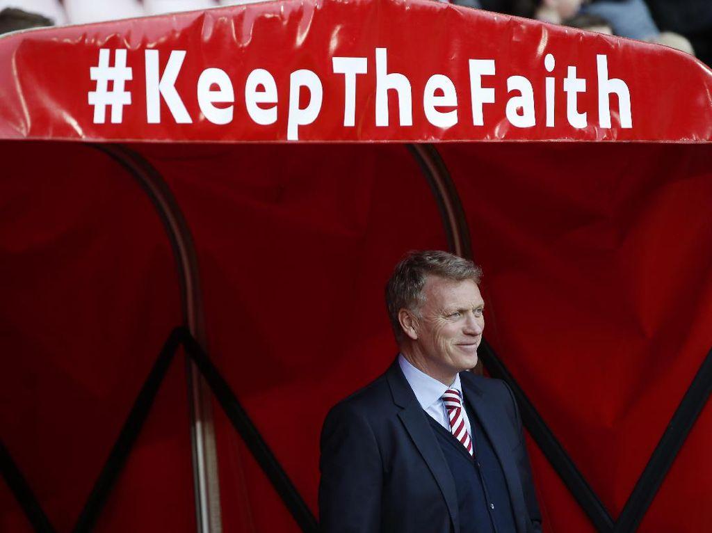 Moyes: Man United Tak Banyak Berkembang Sejak Saya Dipecat