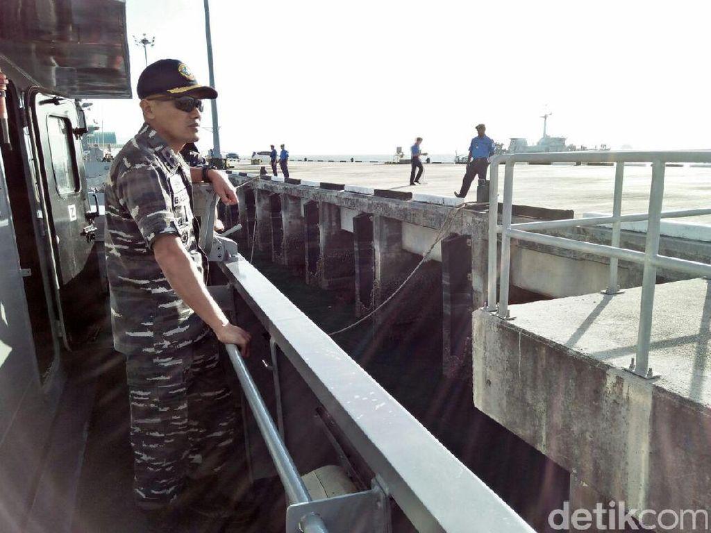 TNI AL dan Tentara Malaysia Patroli Bersama di Selat Malaka