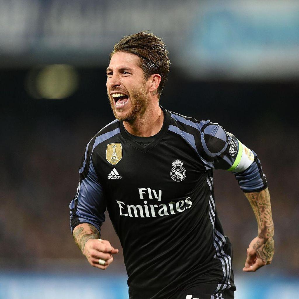 Ramos Tak Menyangka Cukup Produktif Bikin Gol