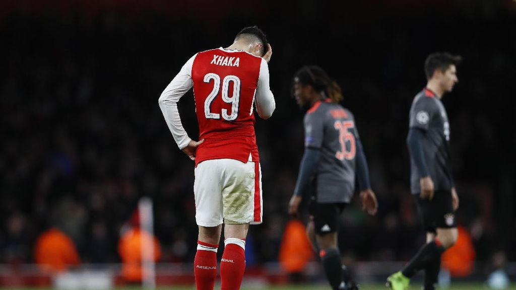 Xhaka: Arsenal Sebenarnya Selevel dengan Bayern