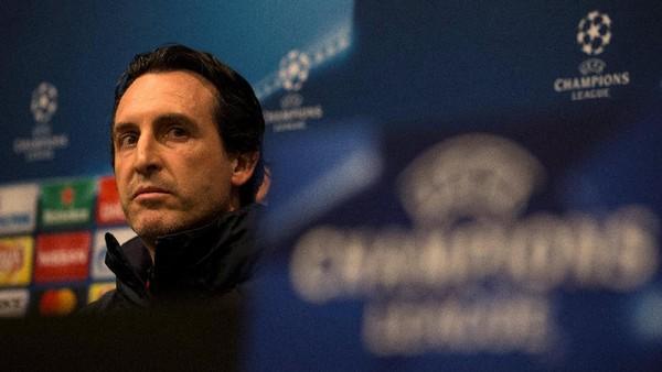 Tandang ke Camp Nou, Emery Akui Ada Tekanan pada PSG