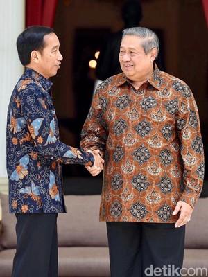 AHY ke Istana, SBY Titip Salam Hormat ke Jokowi