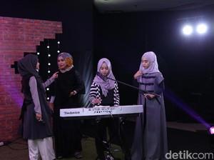 Alumni Hijab Hunt Bikin Syahdu Panggung dHOT Music Day
