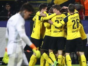 Aubameyang <i>Hat-trick</i>, Dortmund Singkirkan Benfica