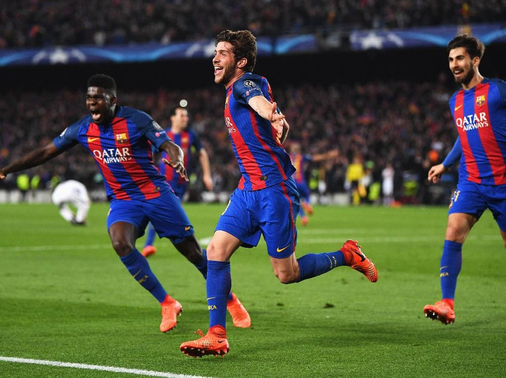 Deretan Comeback Dramatis di Liga Champions