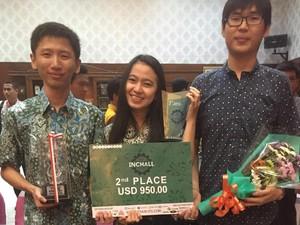 3 Mahasiswa ini Juara di Kompetisi Bidang Teknik Industri se-Asia