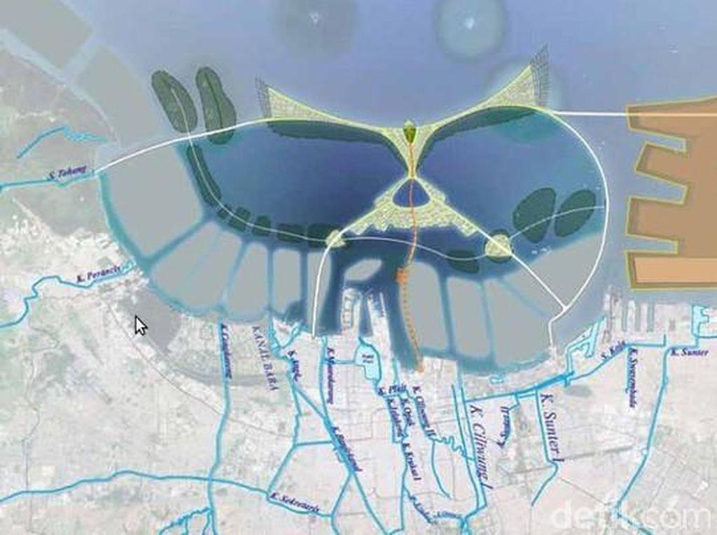 Mengintip Proyek Raksasa Pencegah Jakarta Tenggelam