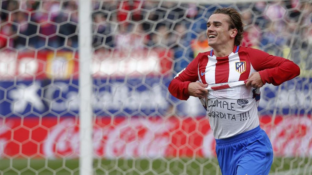 Griezmann Tegaskan Lagi Kalau Dia Bahagia di Atletico