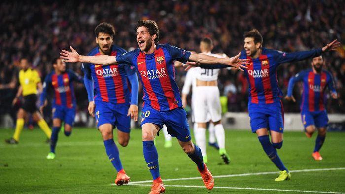 Dramatis Barcelona Menang 6 1 Atas Psg Dan Lolos Ke Perempatfinal