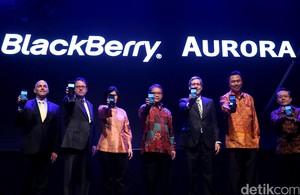 Menkominfo Hadiri Peluncuran BlackBerry Aurora