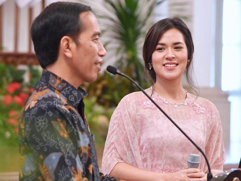 Dapat Hadiah Sepeda dari Jokowi, Ini Ungkapan Kegembiraan Raisa