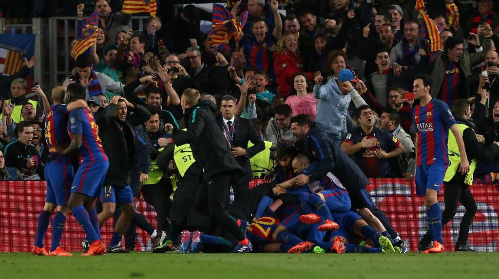 Drama Tujuh Gol di Camp Nou