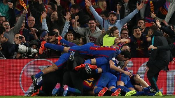 Ini Reaksi Dunia Sepakbola soal Malam Luar Biasa di Camp Nou