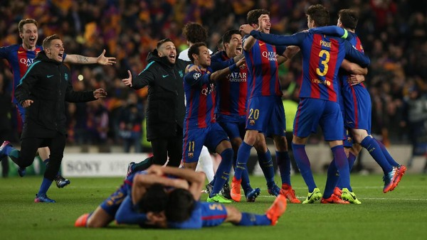 Malam Bersejarah Barcelona
