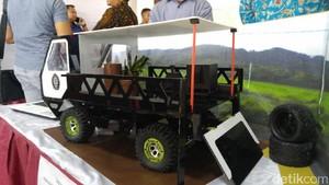 Desain Kendaraan Pedesaan ala Mahasiswa