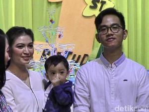 Ultah Pertama Cucu Jokowi Dirayakan Bersama Anak Yatim-Piatu