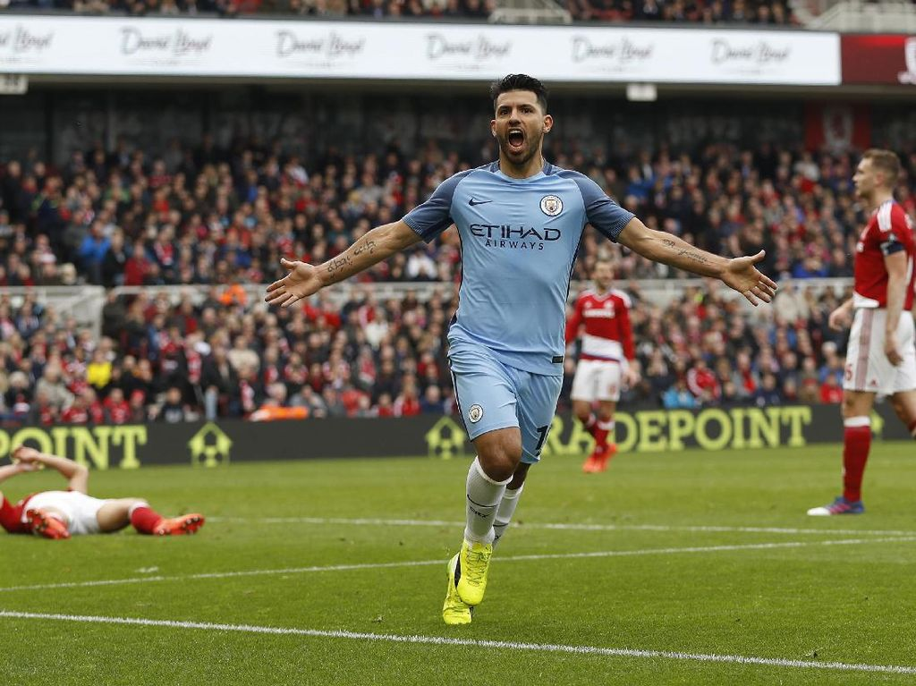 Semifinal Piala FA: City Harapkan Keganasan Aguero