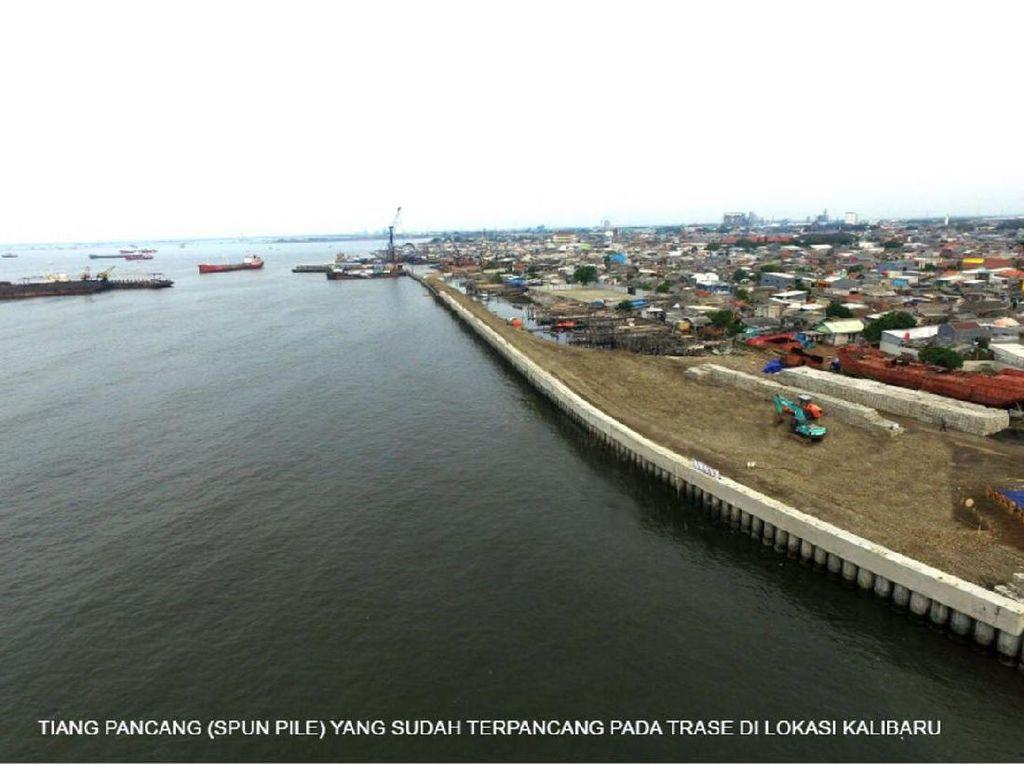RI Lanjutkan Proyek Tanggul Pencegah Banjir Jakarta Bareng Belanda