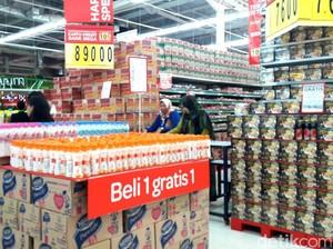 Serba Beli 2 Gratis 1 di Promo Akhir Pekan Transmart dan Carrefour