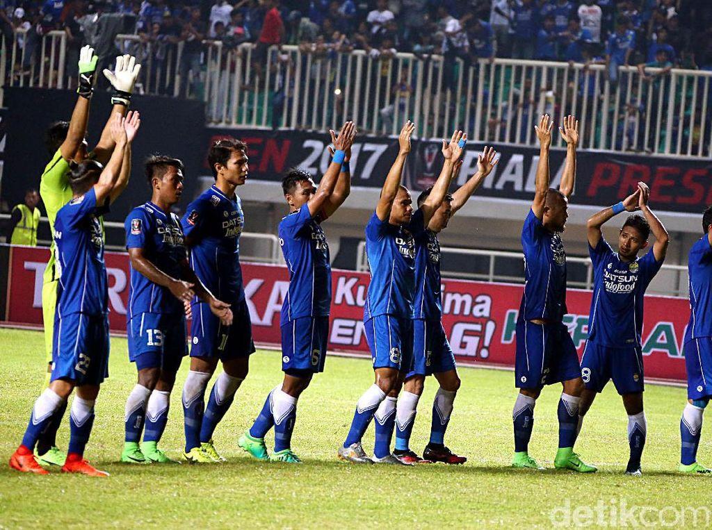 Persib Tempati Posisi Tiga Piala Presiden
