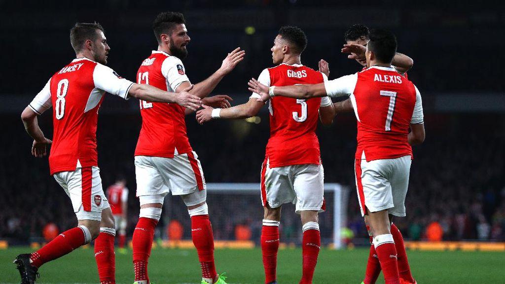 Didukung Rekor Kandang Bagus atas City, Bisakah Arsenal Bangkit?