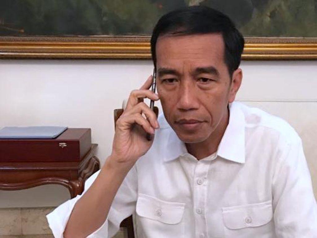 Jokowi Pagi Ini ke Malang, Jenguk KH Hasyim Muzadi