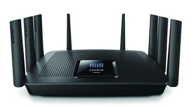 Ilustrasi router Wi-Fi.