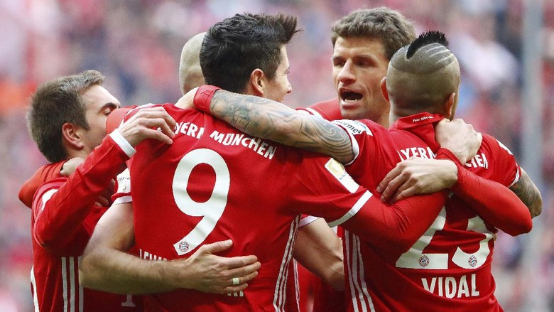 Gelar Bundesliga Sudah Dekat, Bayern Tak Akan Lepas Pedal Gas