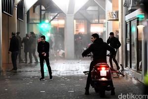 Demonstrasi Turki di Belanda Berakhir Ricuh