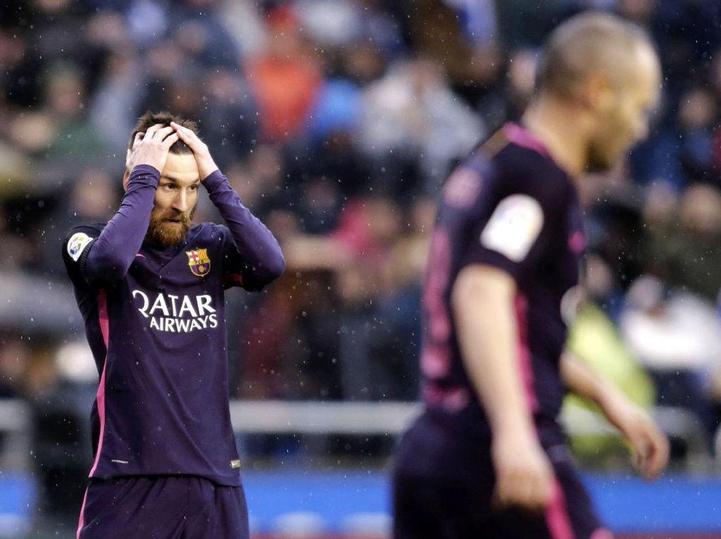 Barcelona Takluk di Kandang Deportivo