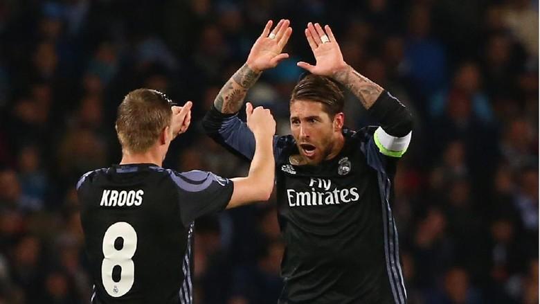 Kroos-Ramos: Duet Set-Piece Mematikan Los Blancos