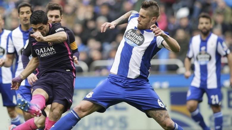 Barcelona Tumbang di Tangan Deportivo