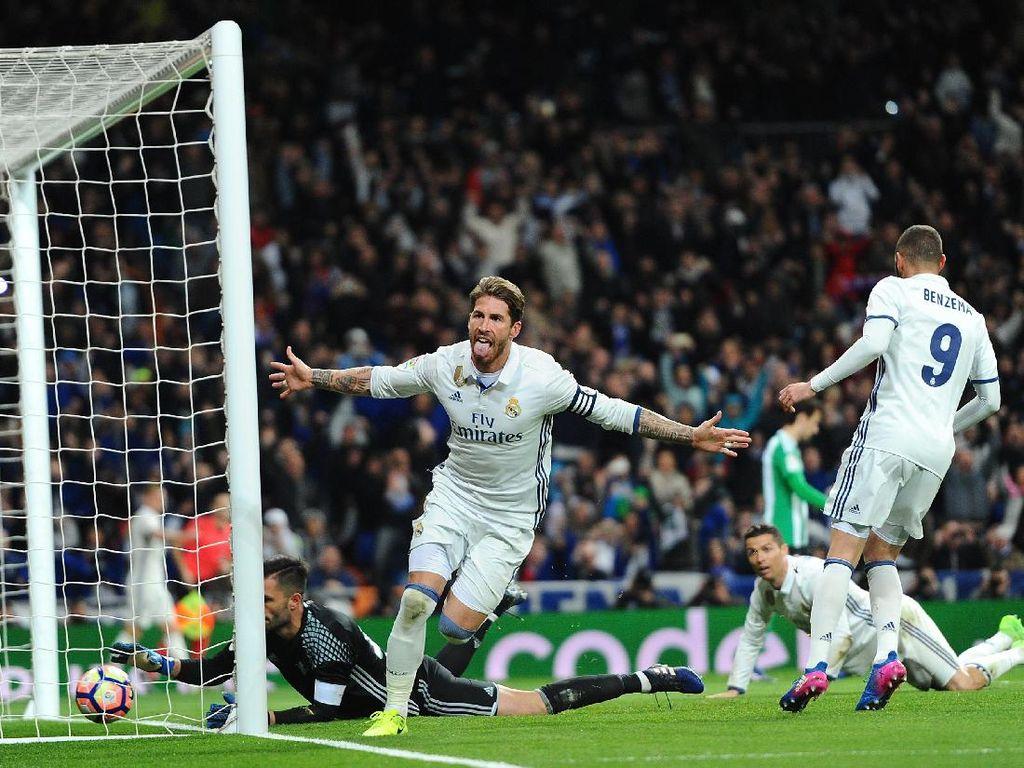 Atasi Betis, Madrid Kembali Puncaki Klasemen
