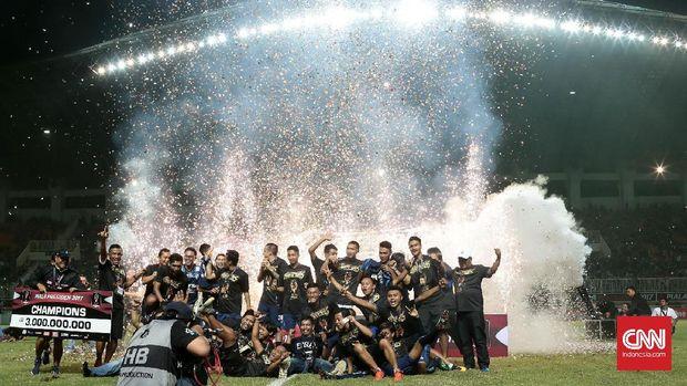 Jadi CEO, Iwan Budianto bawa Arema juara Piala Presiden.