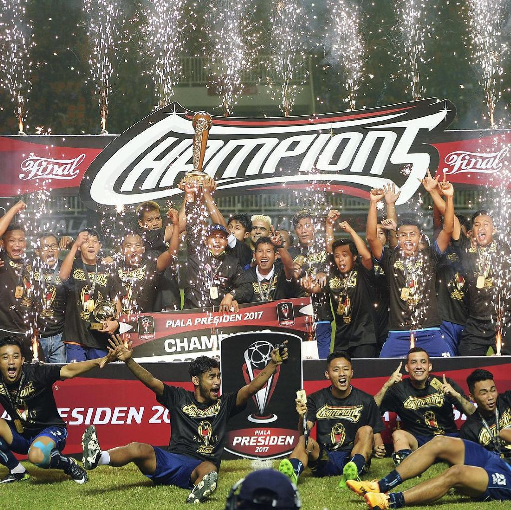 Tekad Arema FC Pertahankan Gelar Juara Piala Presiden