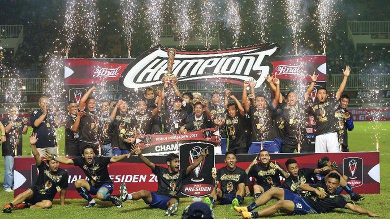 Arema FC Bertekad Akan Mempertahankan Gelar Piala Presiden