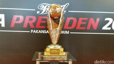 Piala Presiden 2017 dalam Angka
