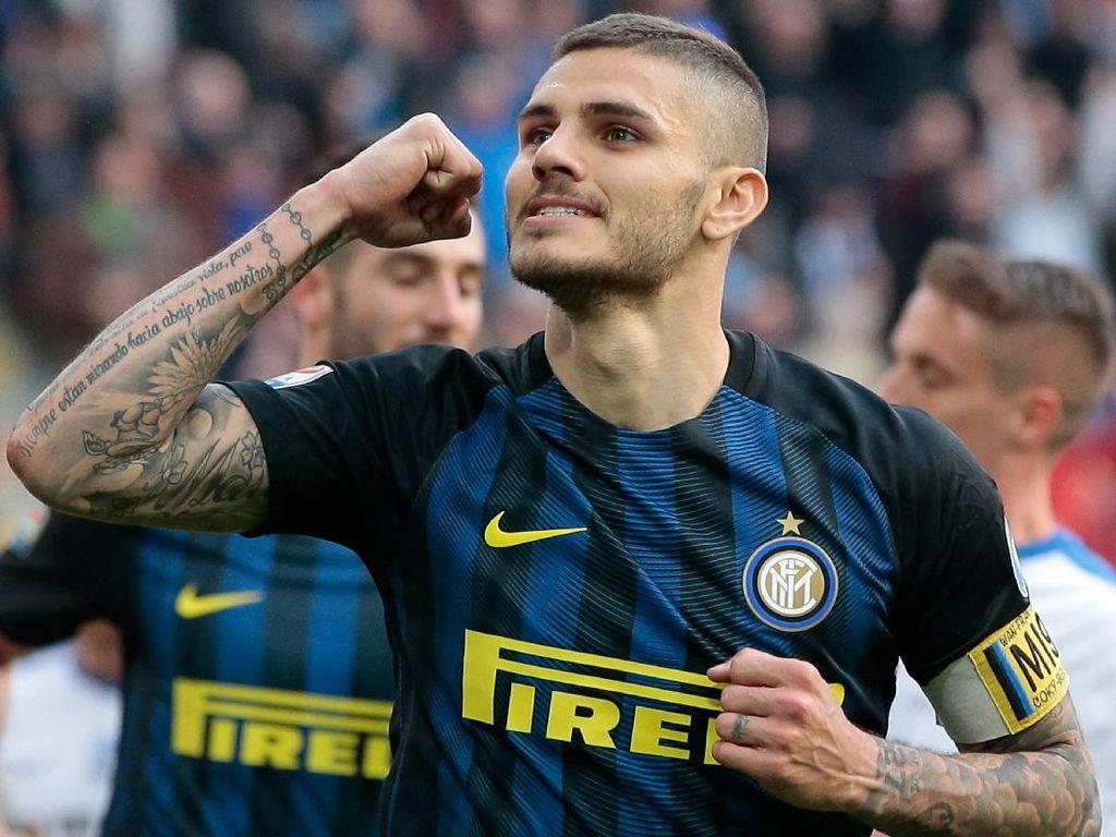 Icardi: Lolos Liga Champions Musim Ini Akan Lebih Mudah
