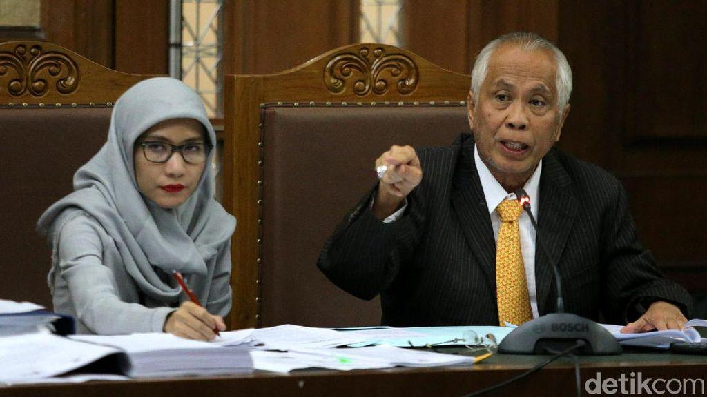 Sidang PK, OC Kaligis Keberatan Divonis Paling Berat