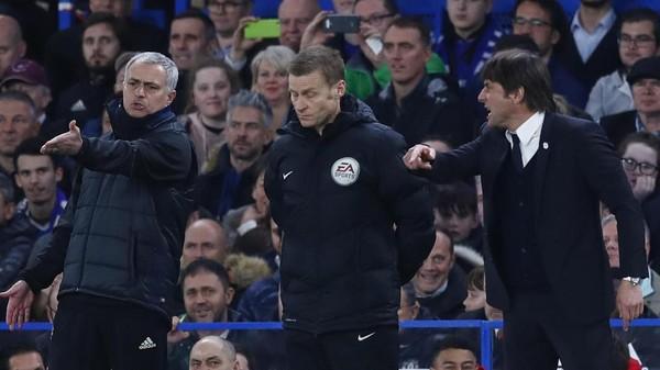 Akan Jumpa Lagi, Conte Bahas Adu Mulutnya dengan Mourinho Bulan Lalu