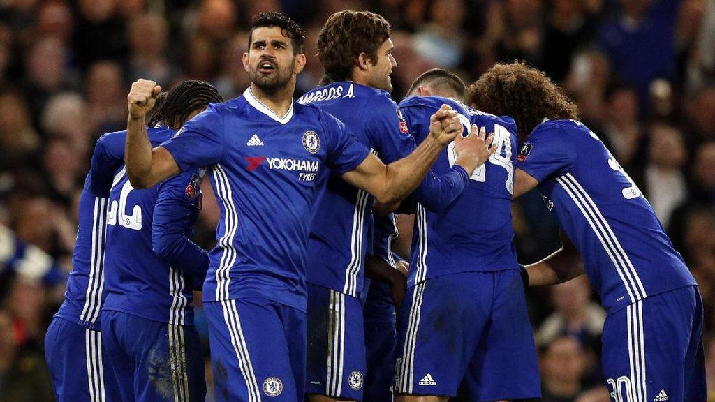 Chelsea Lolos ke Semifinal Piala FA