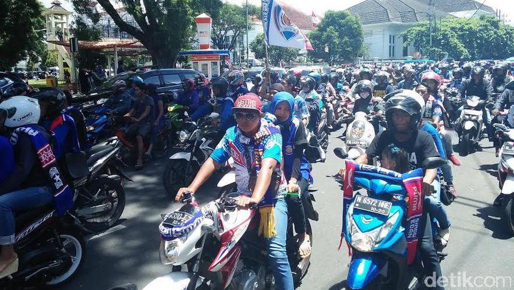 Polisi Larang Aremania Datang ke Bandung