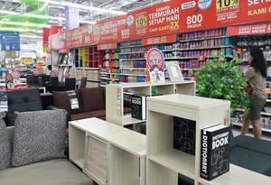 Rapikan Buku dan Majalah dengan Promo Lemari di Transmart Carrefour