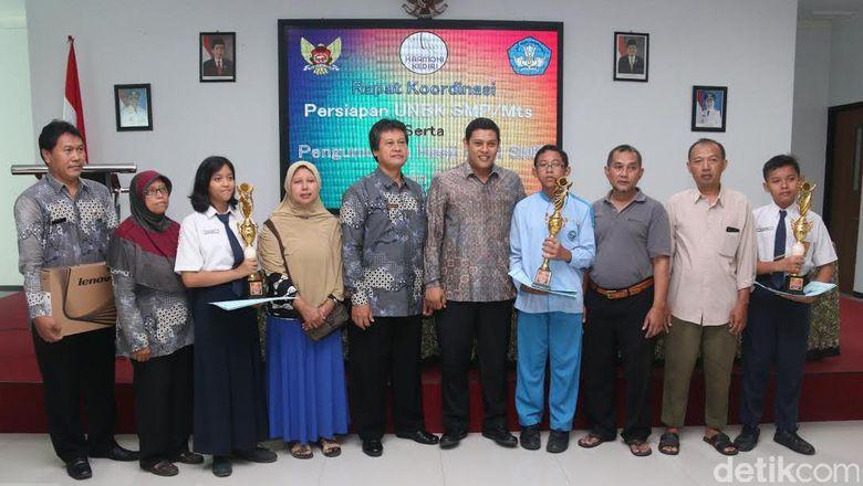 Kota Kediri Targetkan Pelajar SMP/MTs Ikut UNBK 2017
