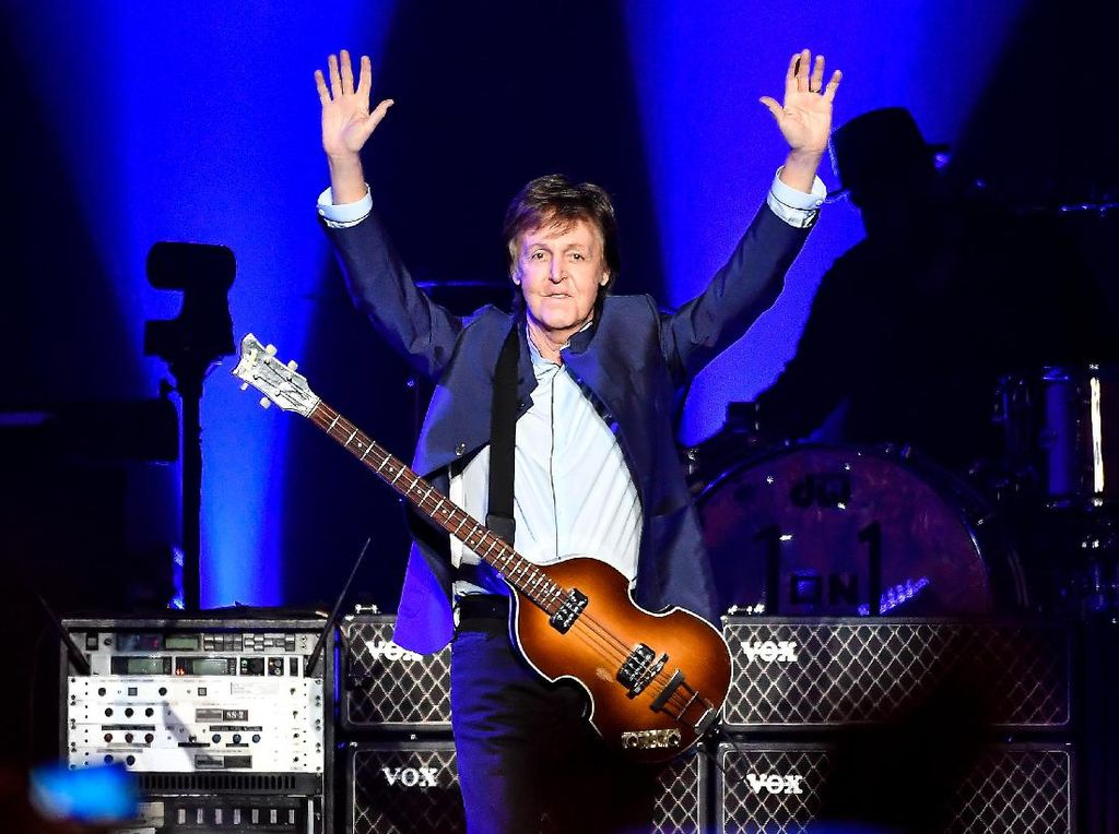 Paul McCartney Tak Pernah Mainkan Lagu The Beatles Satu Album Penuh