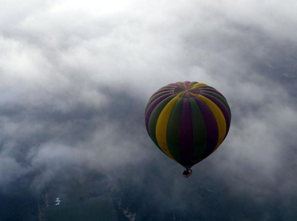 Dalam 9 Hari, 24 Balon Udara Liar Masuk Jalur Penerbangan Yogya