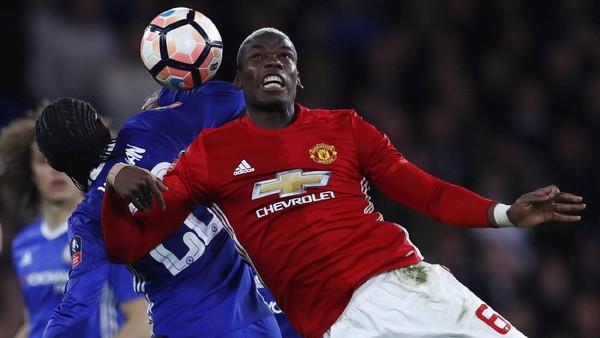 MU Disingkirkan Chelsea, Mourinho: Pogba Pemain Terbaiknya